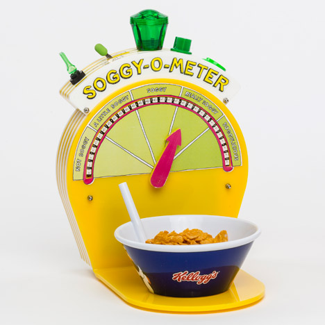 Re-imagining Breakfast inventions by Dominic Wilcox for Kelloggs