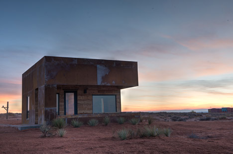 Red Sand Cabins by Design Build Bluff
