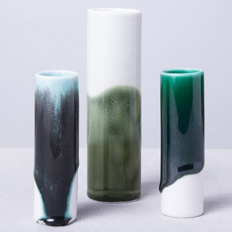 Reiko Kaneko's porcelain ceramic experiments to be presented during London Design Festival