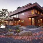 RiverBanks house by Foz Design embraces its scenic Hudson Valley setting