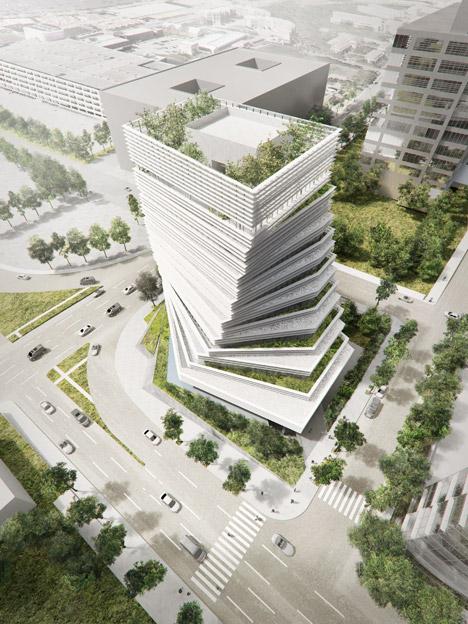 Rolex Building by Kengo Kuma