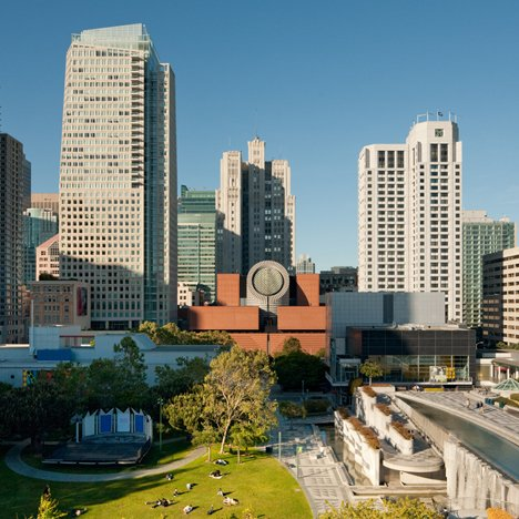 Postmodern architecture: San Francisco Museum of Modern Art by Mario Botta