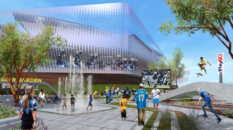 San Diego Stadium by Populous