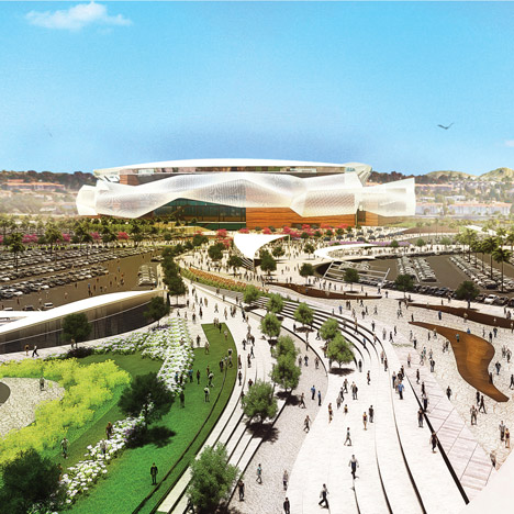 San Diego Stadium by Populous