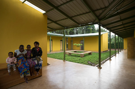 Shelter House in Tanzania by Hollmén Reuter Sandman Architects