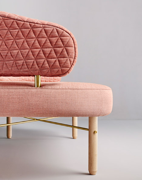 Simone sofa by Missana