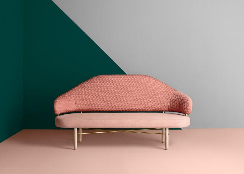Simone sofa by Missana