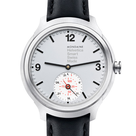 Mondaine Helvetica Smart 1957 is Dezeen Watch Store's first smartwatch