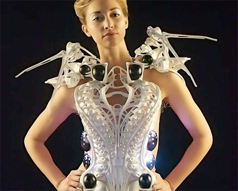 Spider Dress by Anouk Wipprecht