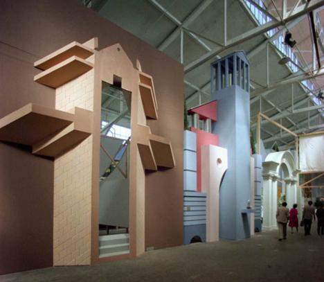 Strada Novissima, Venice Biennale, 1980