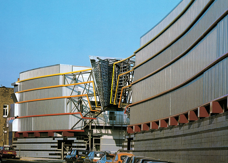 Postmodern Architecture TV Am Television Studios London By Terry Farrell
