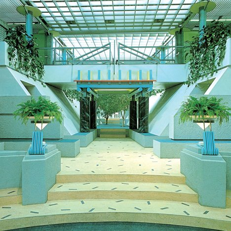 postmodern interior architecture. Postmodern Architecture: TV-am Television Studios, London By Terry Farrell Interior Architecture E
