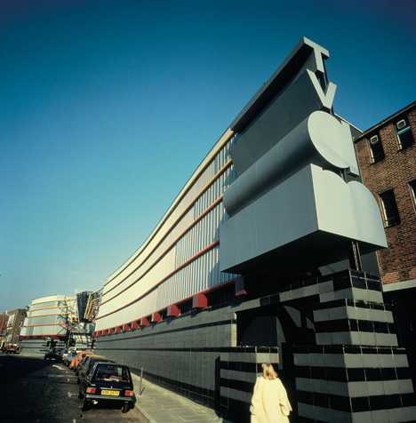 TV AM, London. Terry Farrell and Partners, 1983 – 2011