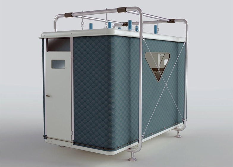 Tentative Post Disaster Shelter by Designnobis Studio
