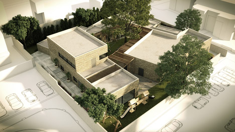 The Ada and Tamar De Shalit House domestic violence refuge in Israel by Amos Goldreich Architecture and Jacobs Yaniv Architects
