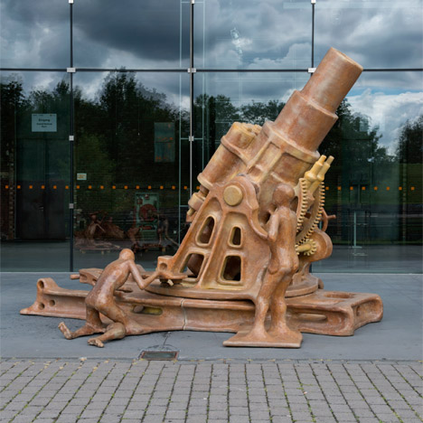 The Good, the Bad and the Ugly by Atelier Van Lieshout at the Ruhrtriennale