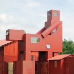 Atelier Van Lieshout takes over German festival with The Good, The Bad and The Ugly installation