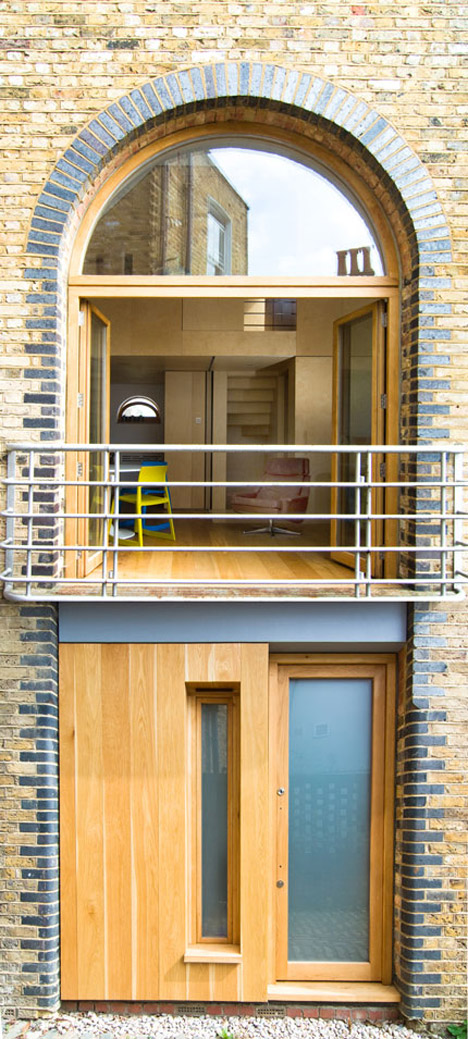 The Studio in Stoke Newington by Bradley Van Der Straeten Architects