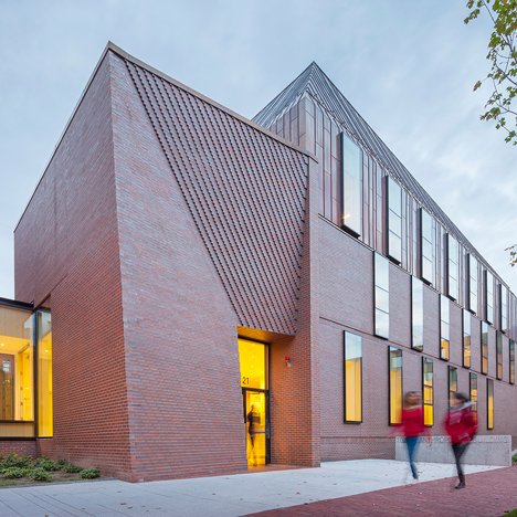 Kennedy violich adds copper volume to harvard building - Architecturen volumes ...