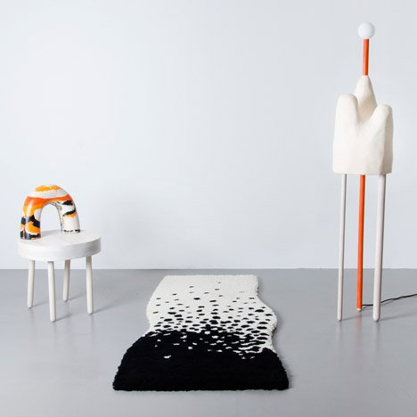 Erika Emerén designs furniture by scaling up plasticine models