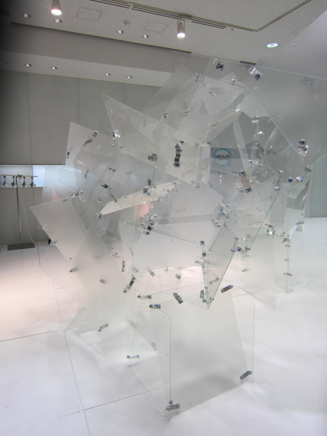 Transparent Structures installation
