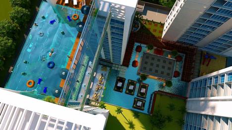 Transpa Swimming Pool To Bridge, Glass Swimming Pool India