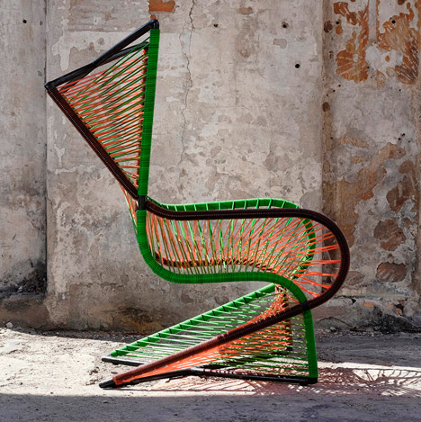 Vibra chair by Raiko Valladares and Jose A Villa