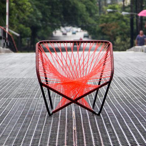 Vibra chair by Raiko Valladares and Jose A Villa