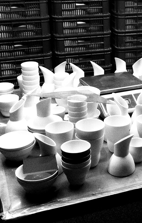 Vipp and Annemette Kissow breakfast ceramics