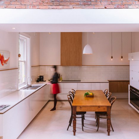 Preston Lane Architects renovates kitchen of 19th-century house in Tasmania