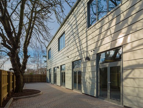 Wimbledon College of Arts studios by Penoyre & Prasad