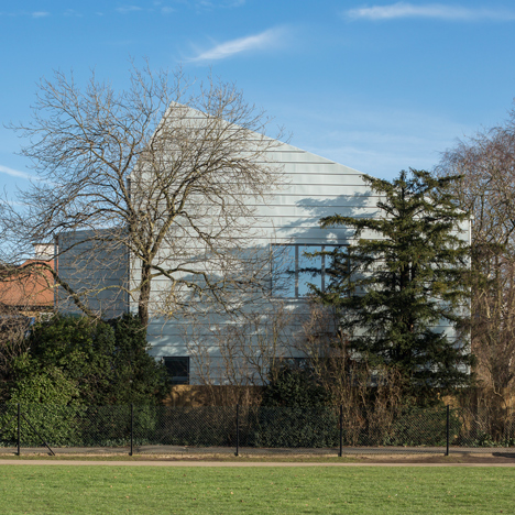 "Zinc cladding lends ""workplace aesthetic"" to Wimbledon art studios by Penoyre & Prasad"