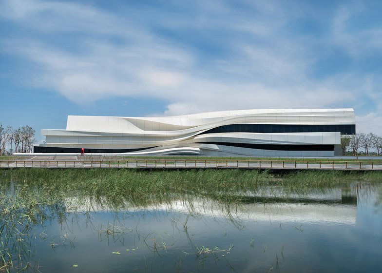 Yinchuan Art Museum by WAA