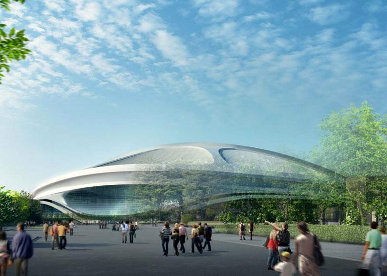 Zaha Hadid's Tokyo 2020 Olympic stadium