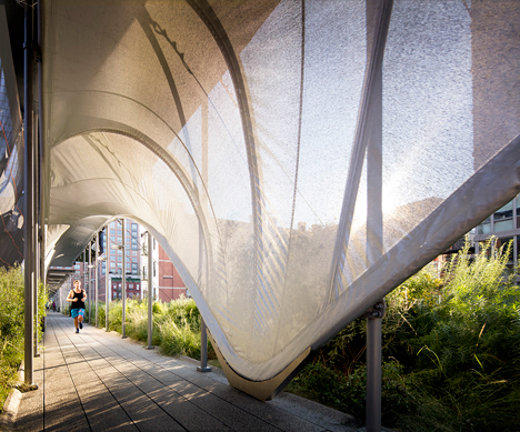 Zaha Hadid's High Line installation