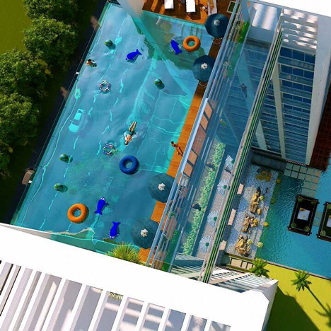 This Week Plans For Vertigo Inducing Swimming Pools In London And India Emerged International