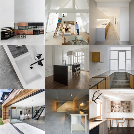 updated kitchens pinterest board design dezeen