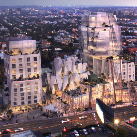 8150 Sunset Blvd by Frank Gehry