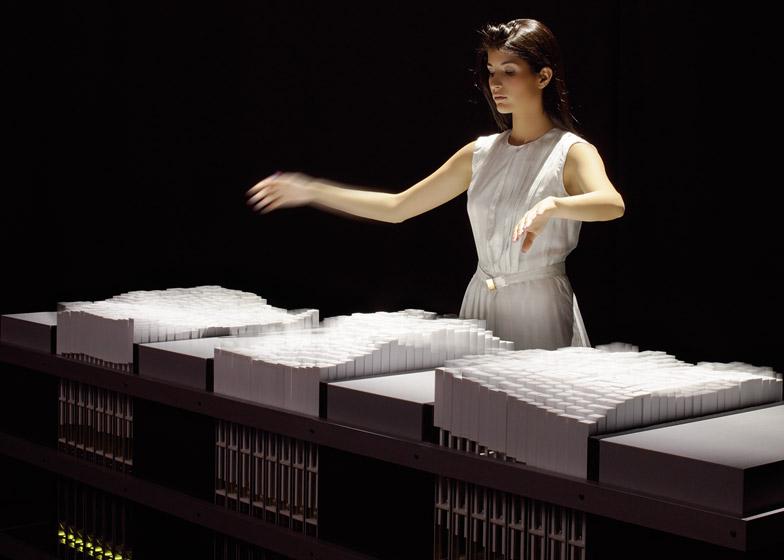 Transform furniture by Hiroshi Ishii for Lexus International