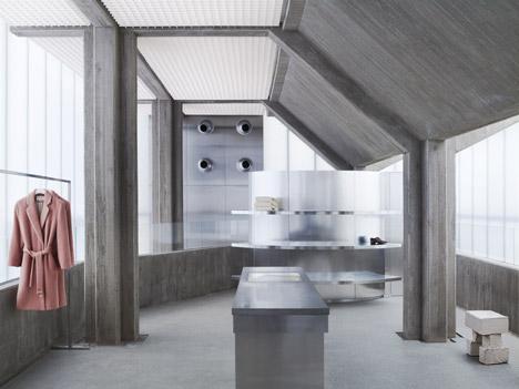 Acne Studios Seoul flagship by Sophie Hicks