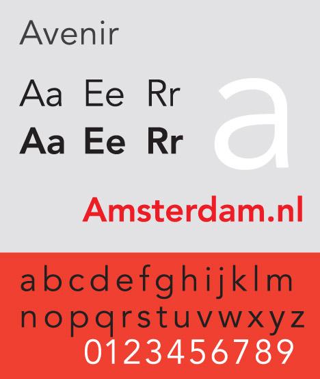 Adrian Frutiger's Avenir typeface