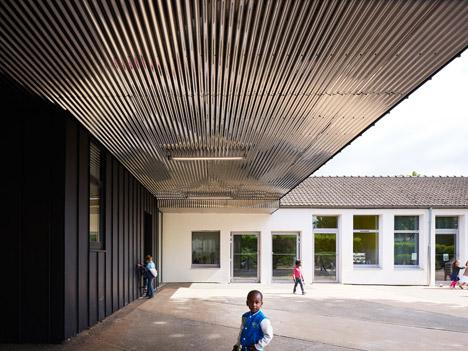 Allies de Chavannes nursery school by Graal Architecture