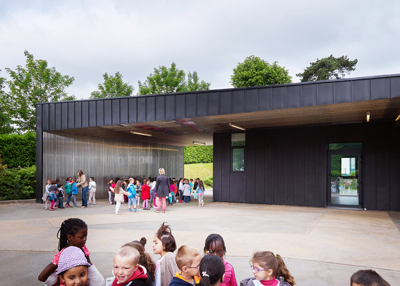 Allies de Chavannes nursery school by Graal Architecture