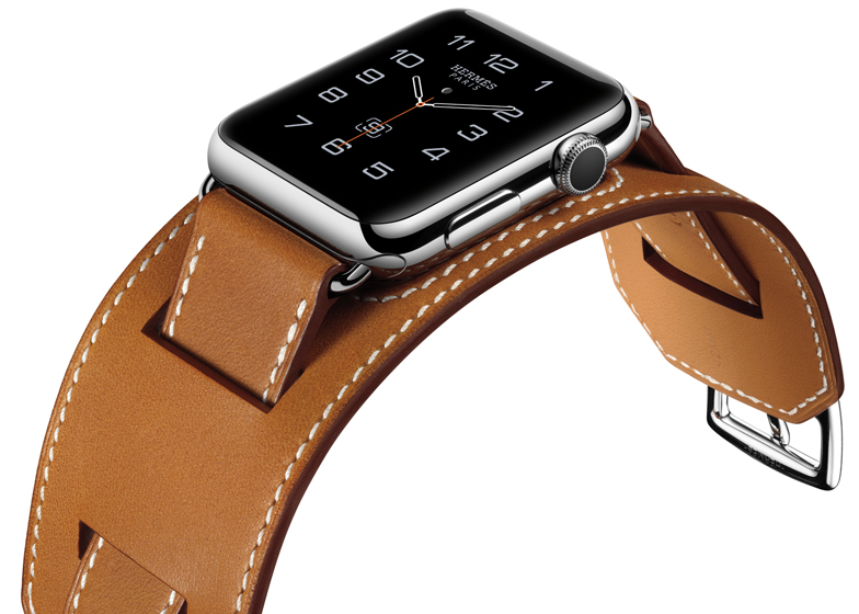 Apple Watch Hermès Collection with cuff strap