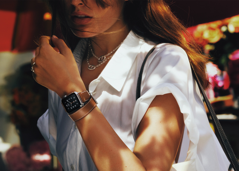 Apple Watch Hermès Collection with Double Tour strap