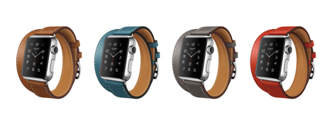 Apple Watch Hermès Collection with Double Tour strap options