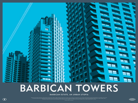 Competition: three limited-edition Barbican Estate prints by Dorothy to be won