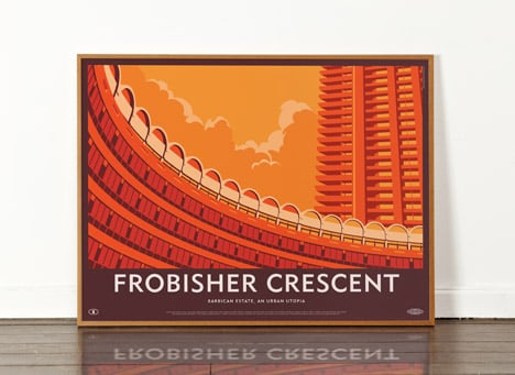 Frobisher Crescent poster by Dorothy