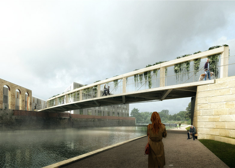Bath Quays Bridge Competition entry