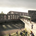 Six designs unveiled in shortlist for Bath Quays Bridge competition